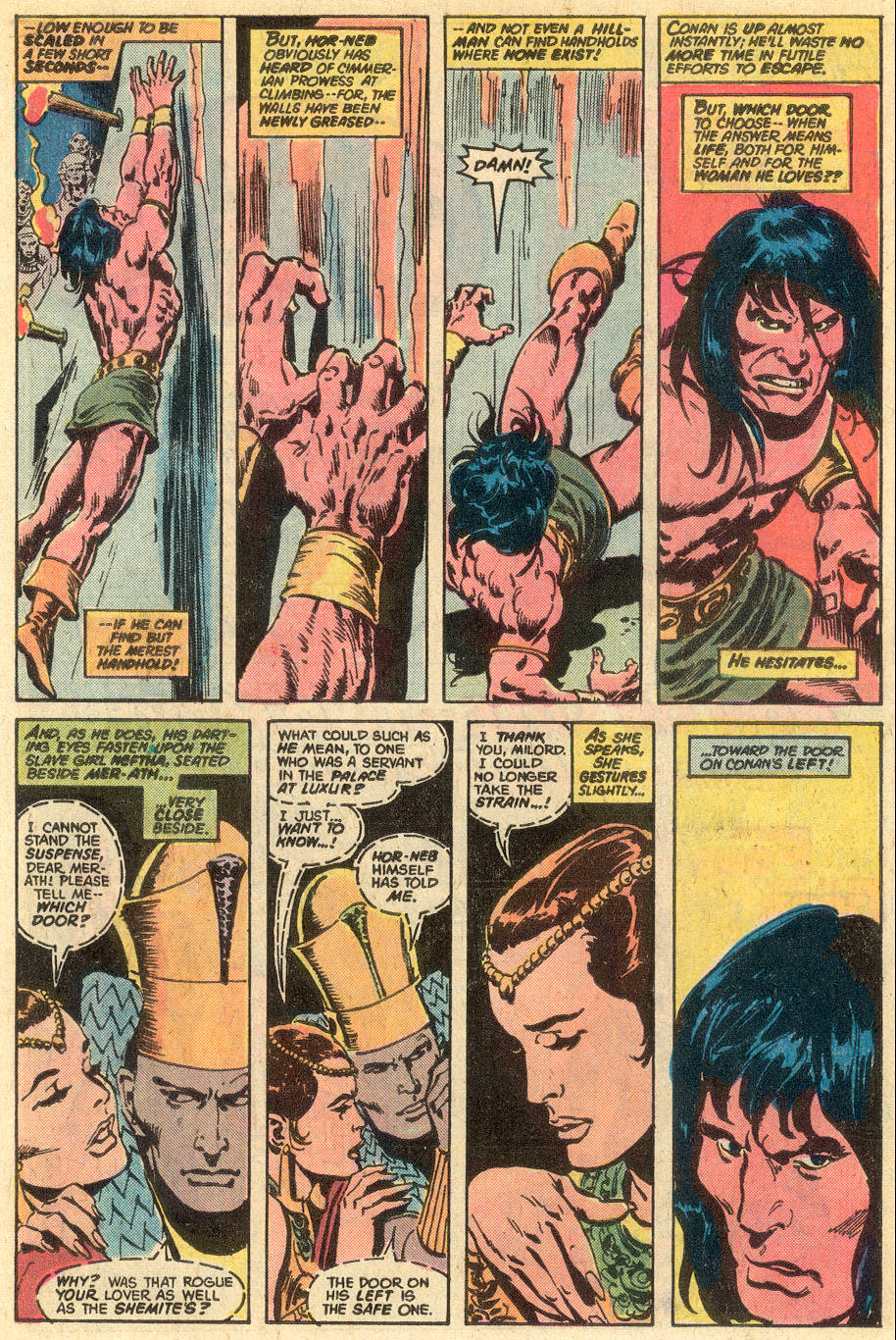 Conan the Barbarian (1970) Issue #77 #89 - English 12