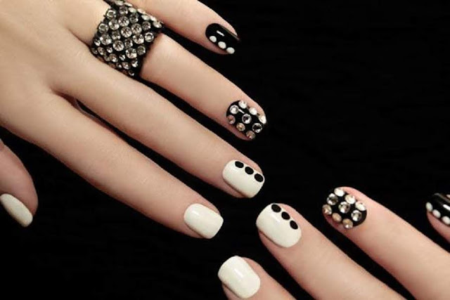 Simple DIY Inspired Nail Art Designs