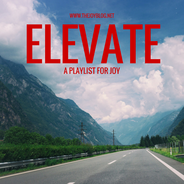 Elevate Playlist Blue Sky Road Mountains