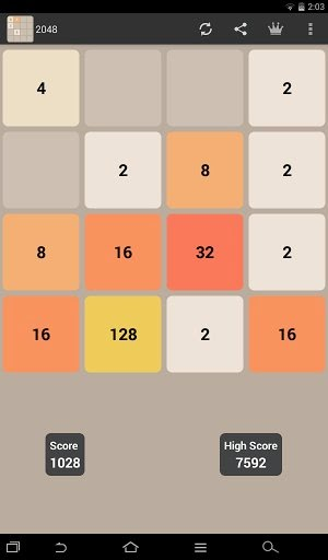 2048 is one of the best puzzle games that you can play on your Android device, phone or tablet. This latest addictive gaming sensation is like Candy Crush ...
