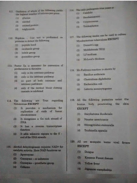 APPG 2014 RE EXAM QUESTION PAPER WITH KEY   APPG 2013 (MD MS