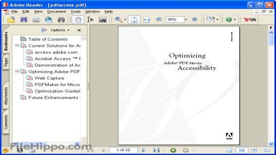 Adobe Reader 11.0.03 screenshot 2