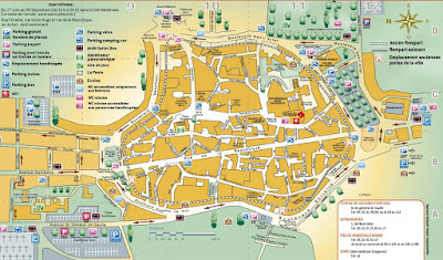 Sarlat map
