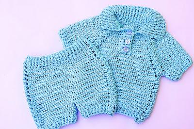 6 - Crochet IMAGEN pantalon a juego con jersey a crochet muy facil y rapido MAJOVEL CROCHET