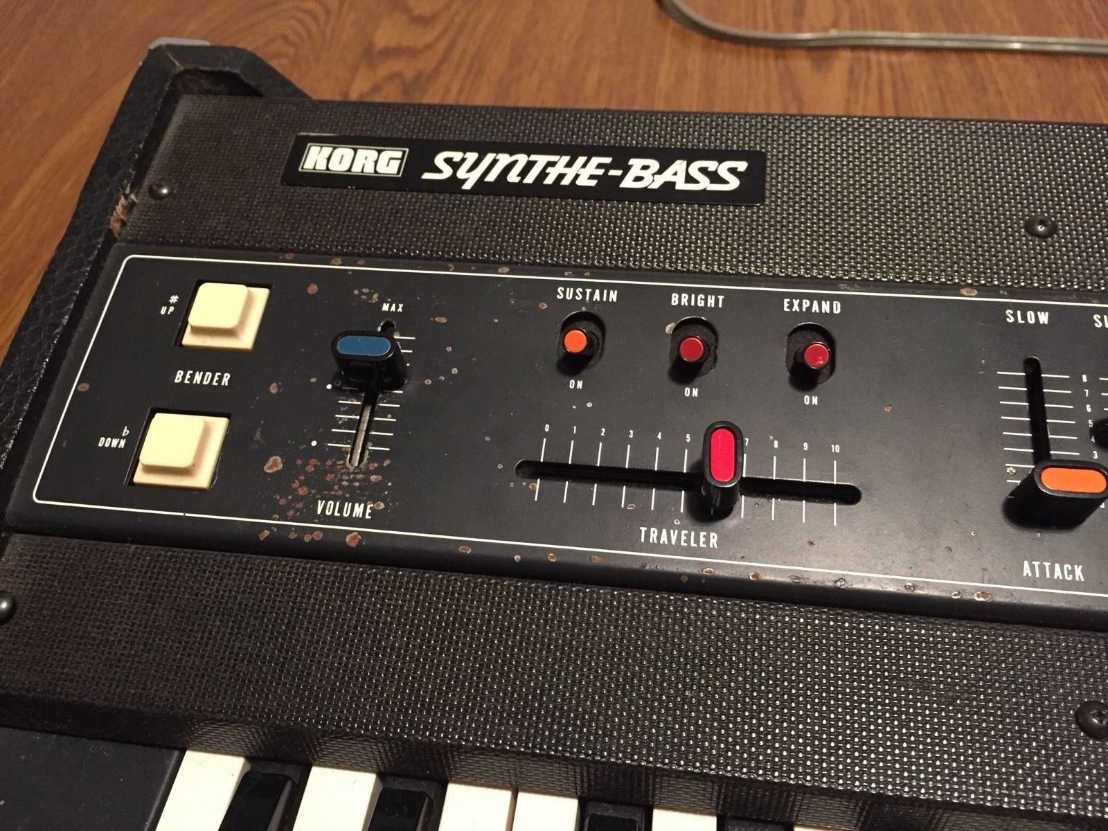 MATRIXSYNTH: Korg Synthe-Bass SB-100 Analog Synthesizer SN