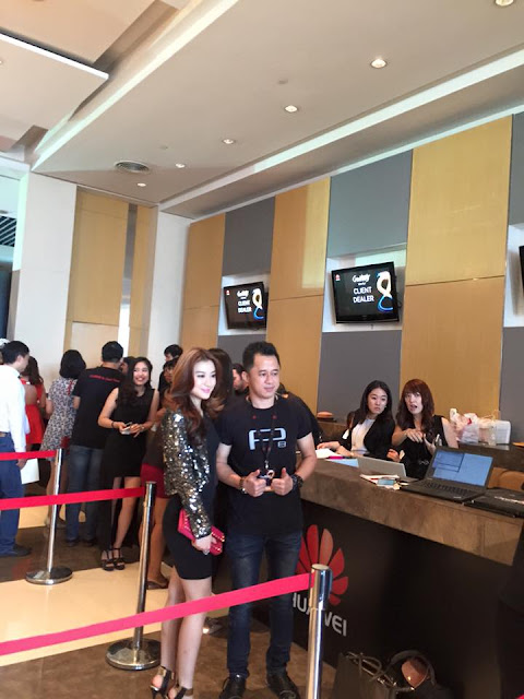 Wut Hmone Shwe Yi  Attends Product Launch of Huawei P8 for Southeast Asia Region in Bangkok