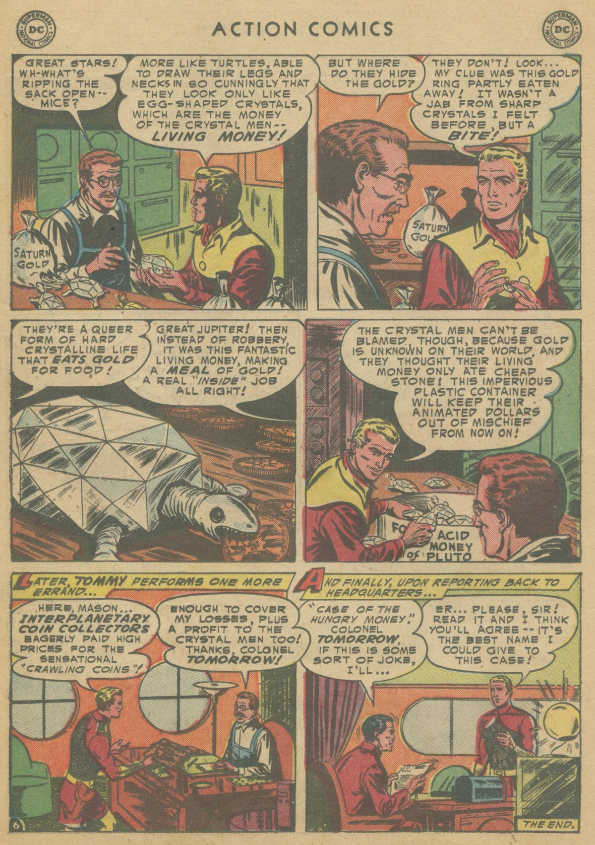 Read online Action Comics (1938) comic -  Issue #199 - 23