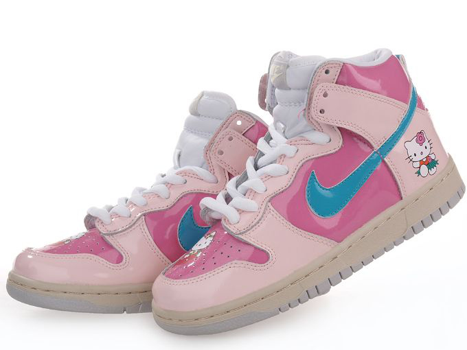 huge selection of 596a3 b55f9 ... Cute Nike dunk Hello Kitty Shoes For Sale ...