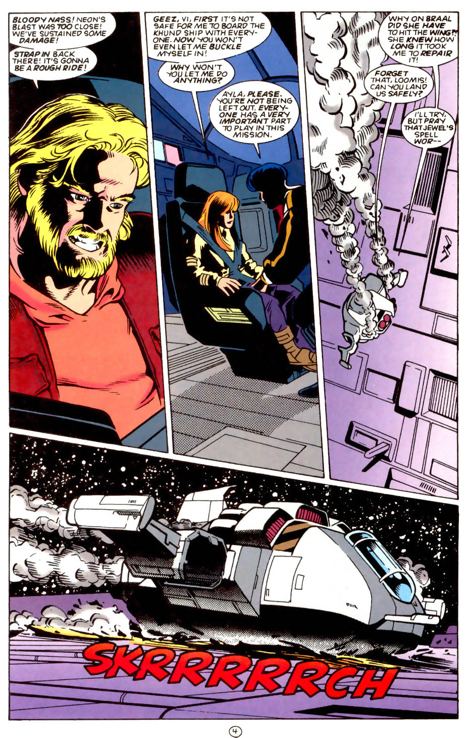 Legion of Super-Heroes (1989) 58 Page 4