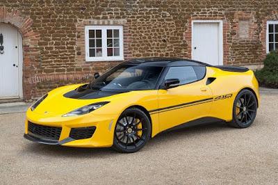 Lotus Evora Sport 410 (2016) Front Side