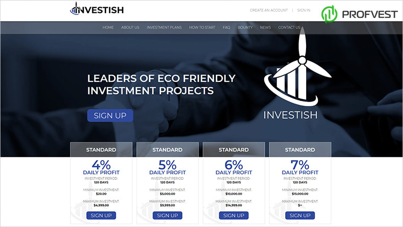Обновление дизайна и маркетинга в Investish