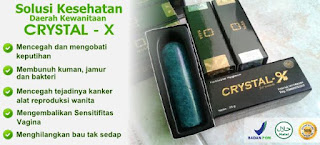 Produk Crystal X Asli Distributor Nasa