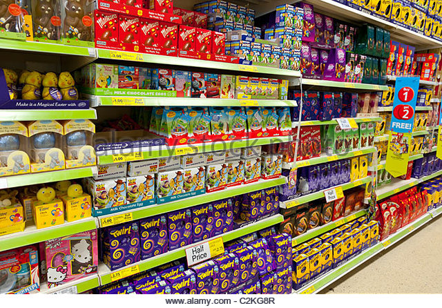 Easter Chocolate Tesco