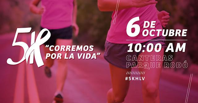 5k Corremos por la vida (Canteras del parque Rodó, 06/oct/2018)