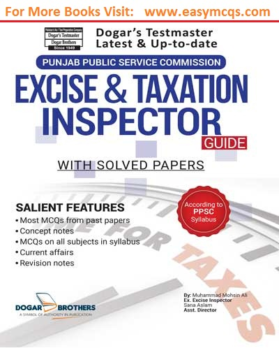 excise and taxation inspectors doger publishers pdf guide easy mcqs