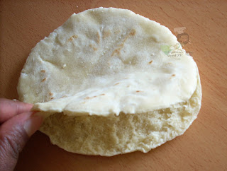 Shawarma Bread, Homemade Shawarma Bread in a Pan on stove, shawarma wrap ,pita bread,Naan bread ,Flat Bread