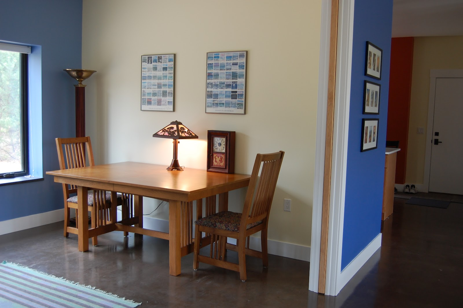 Dining Table Against The Wall Dining Table