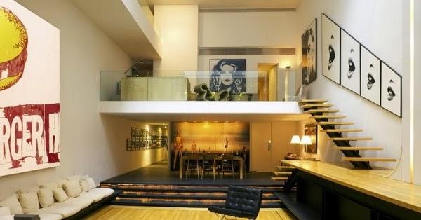 rangka plafon baja ringan minimalis menambah ruang dengan lantai mezanine | rumah idamanku