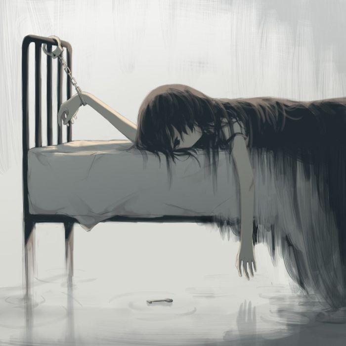 Seperti inilah depresi bagi saya.
