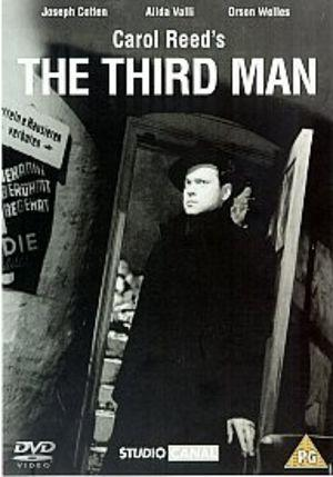DVD cover The Third Man 1949 Joseph Cotten Orson Welles