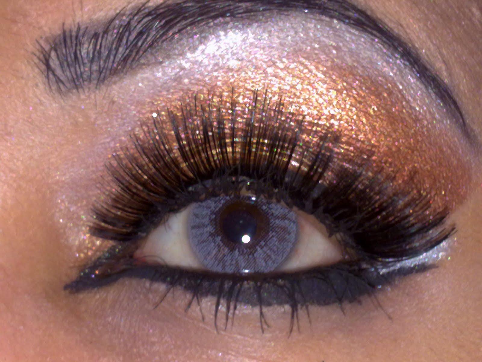 Love Makeup Safira: Gold/Brown Smokey Arabic Makeup Look