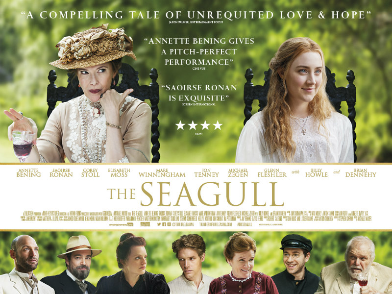 the seagull saoirse ronan poster