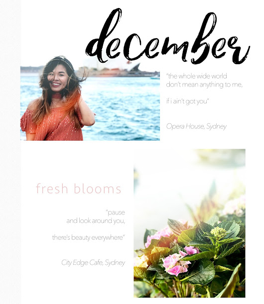 Glamorised.: hello amazing december