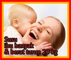 Ibu & bayi gembira