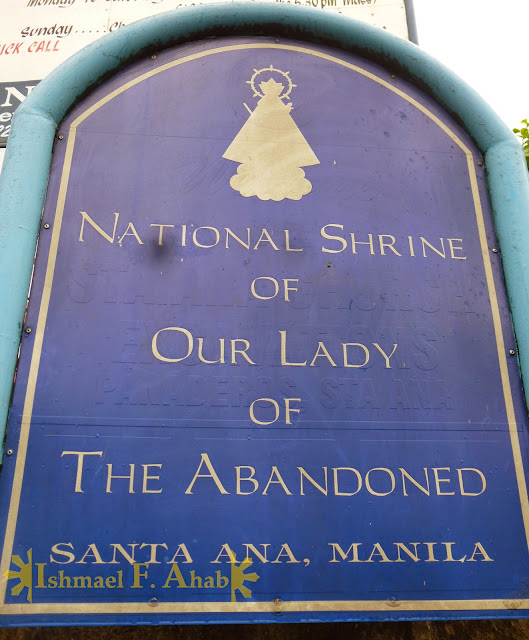 National Shrine of Our Lady of the Abandoned in Santa Ana, Manila