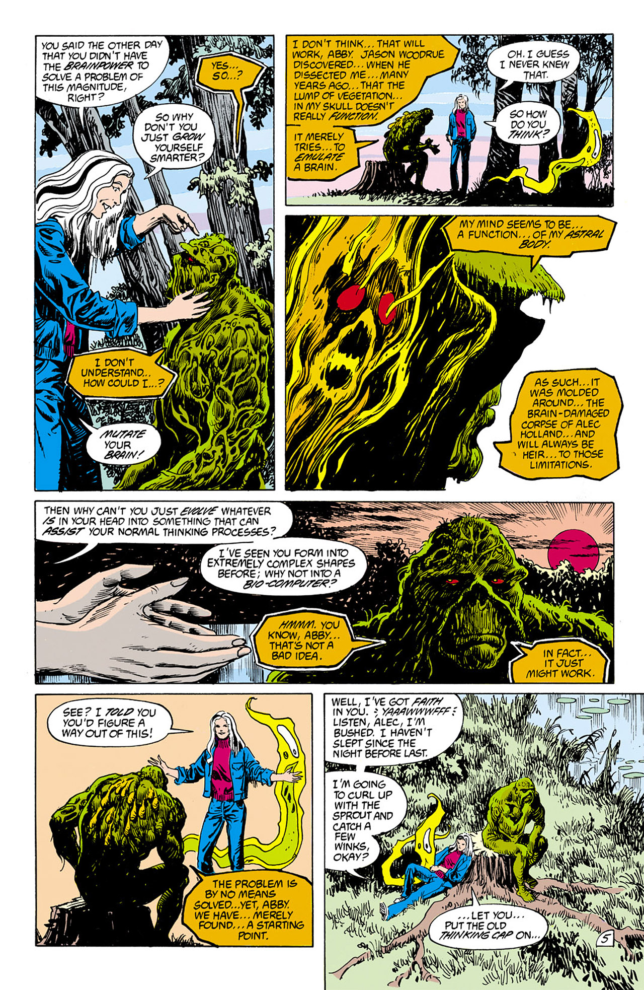 Swamp Thing (1982) Issue #75 #83 - English 6