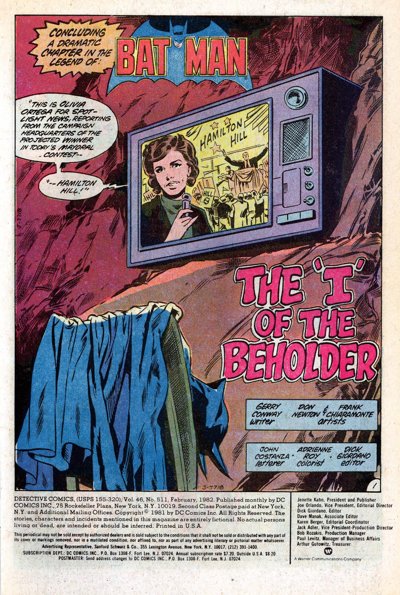 Detective Comics (1937) 511 Page 2