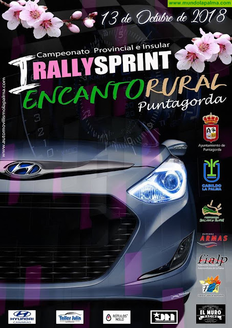 "I Rally Sprint ""Encanto Rural"" - Puntagorda 2018"