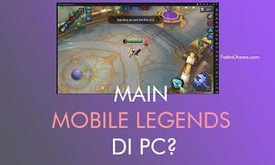Pemain Mobile Legends selalu meningkat setiap tahunnya walaupun banyak pesaing Cara Main Mobile Legends di PC / Laptop, Sangat Mudah