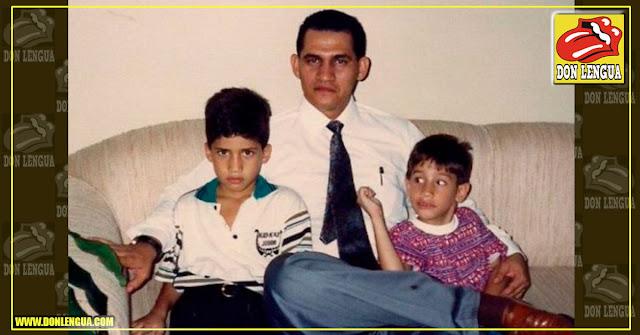 Así era Juan Guaidó cuando era niño - Su padre es taxista en España