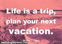 Let Best Singles Travel take you on your Holiday or Vacation!