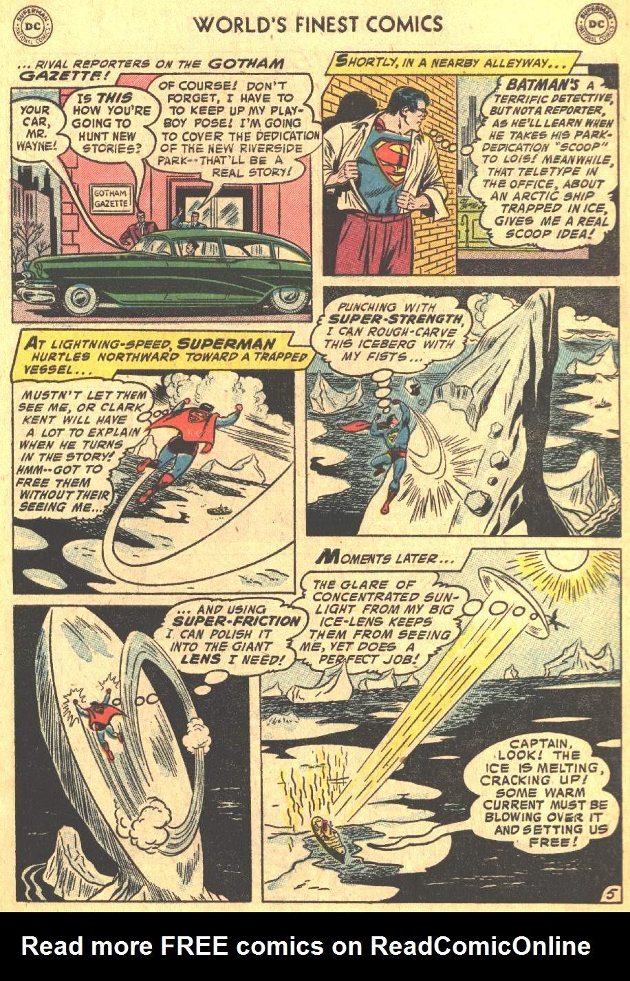 Read online World's Finest Comics comic -  Issue #80 - 7