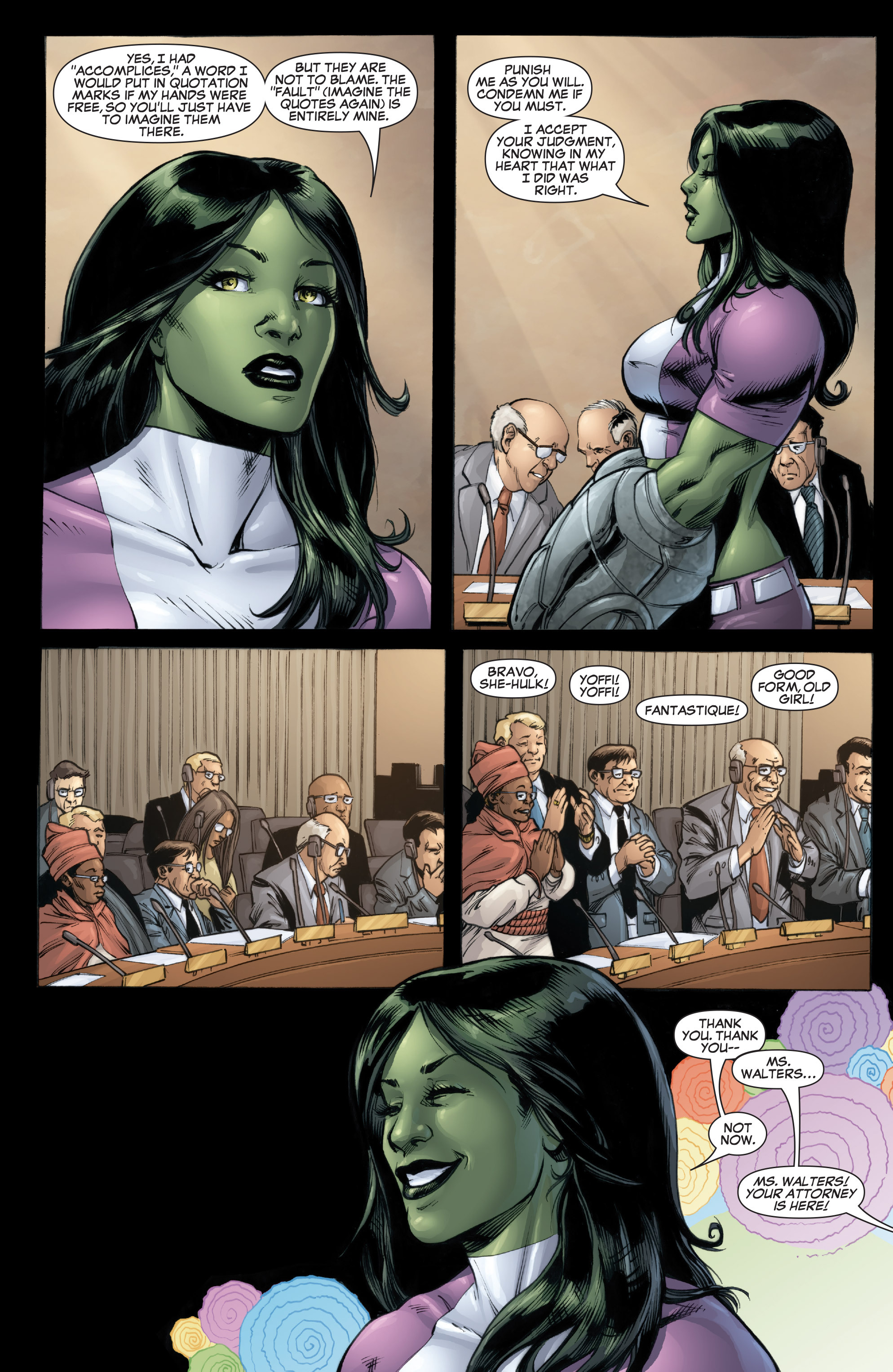 Read online She-Hulk (2005) comic -  Issue #37 - 5