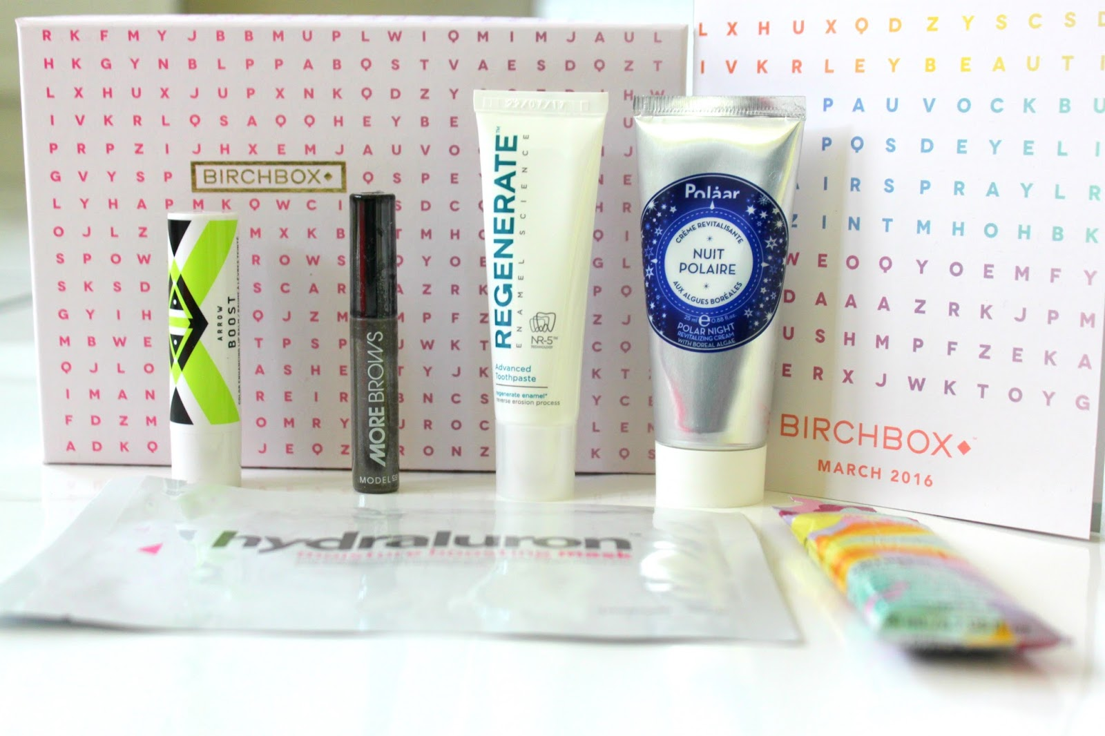 March 2016 Birchbox Word Up! Review