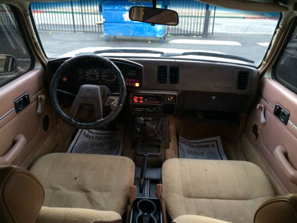 1984 Isuzu I-mark Sedan Interior