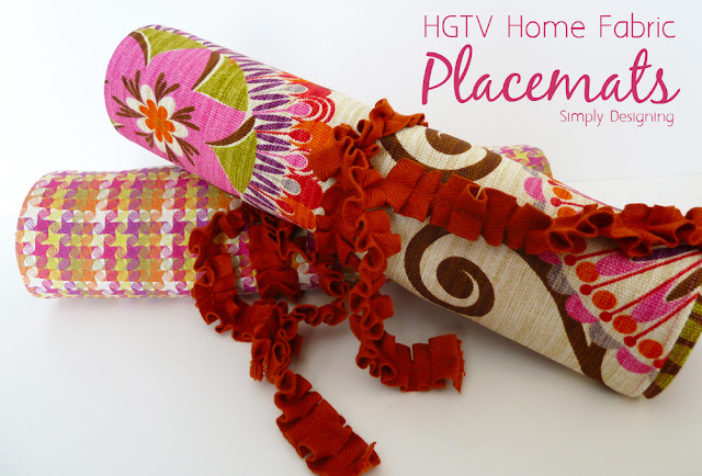 placemats 07a HGTV Home Decor Fabric Placemats 17