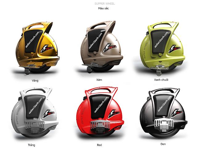 xe điện thông minh 1 bánh chọn màu