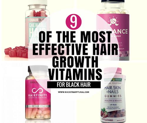 9 Hair Growth Vitamins That Actually Work for Black Hair | ROCKIN ...