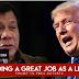 WATCH: US Pres. Trump, Pinuri Ang Drug War Ni Pres.Duterte 'He's doing a great job!'