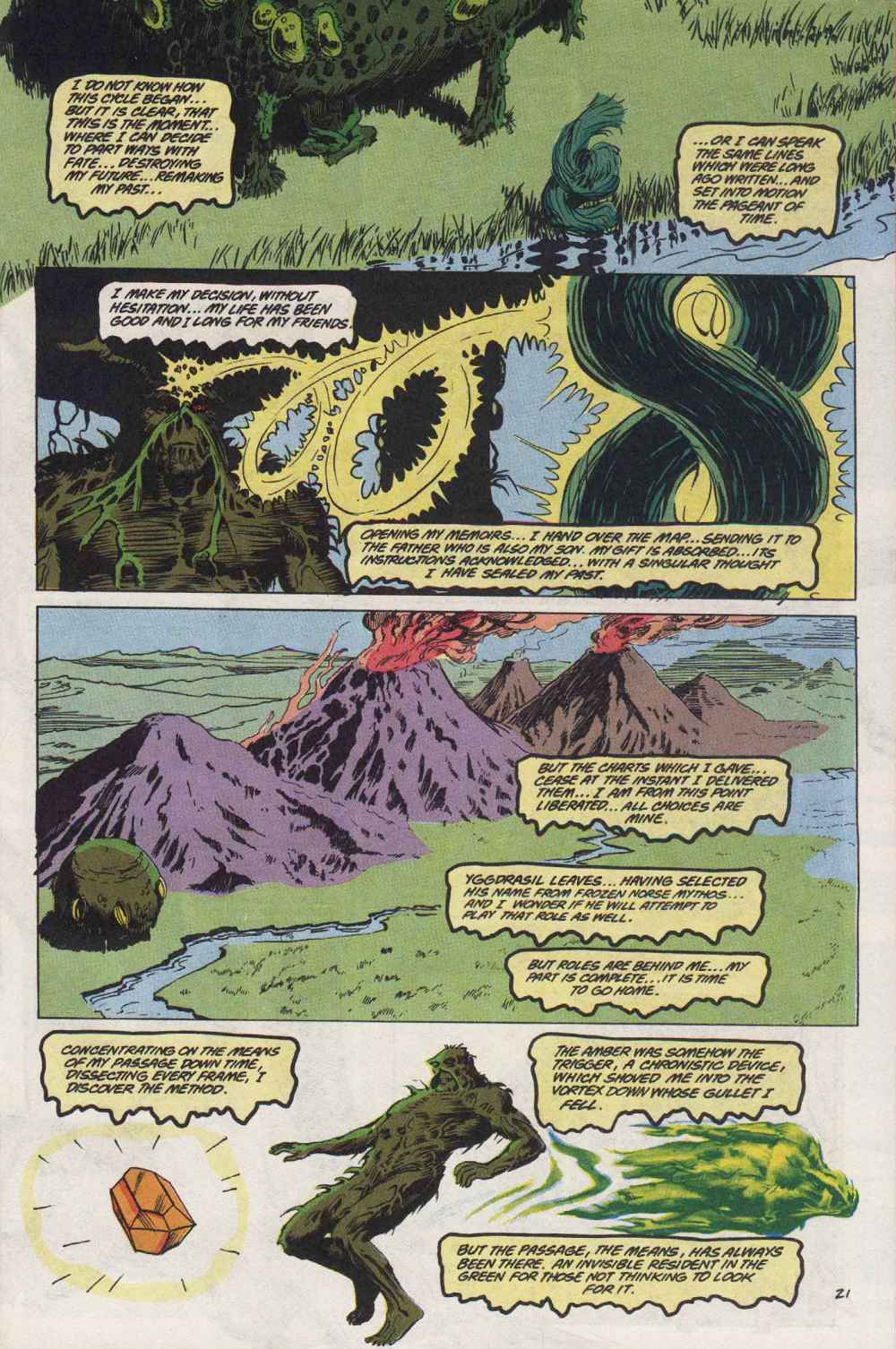 Swamp Thing (1982) Issue #89 #97 - English 22