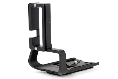 Sunwayfoto PCL-1DX Custom L Bracket side-back-view