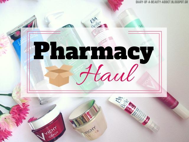 Ανοίγω την παραγγελία μου από ηλεκτρονικό φαρμακείο ║ Pharmacy Haul [Vichy, InterMed]