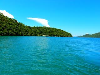 Paraty - A Lagoa Azul, que é verde...