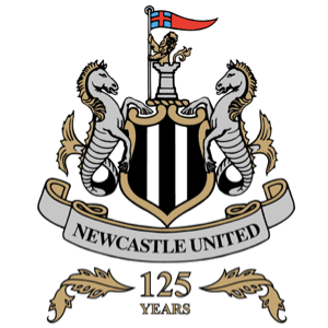Newcastle United F.C. Logo 125 anniversary
