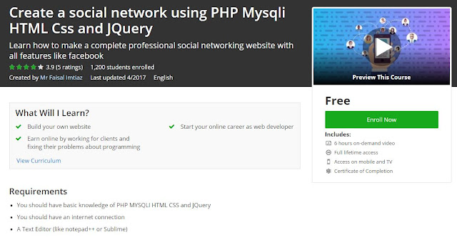 Create-social-network-using-PHP-Mysqli-HTML-Css-and-JQuery
