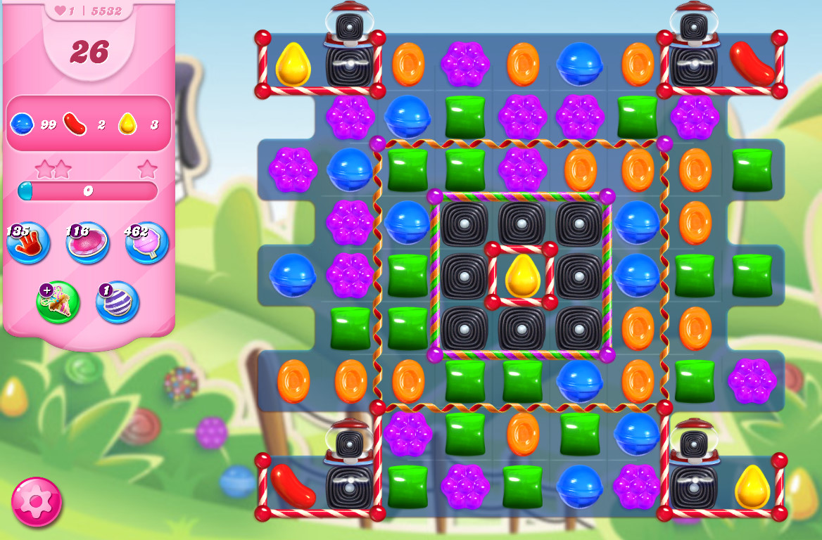 Candy Crush Saga level 5532